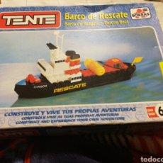 Juegos construcción - Tente: BARCO RESCATE TENTE CON CAJA. Lote 189653137