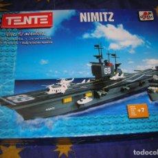 Juegos construcción - Tente: TENTE NIMITZ REF,70111 ESTA COMPLETO VER FOTOS DEL LOTE CON EL PRECIO INCLUYE. Lote 191493773