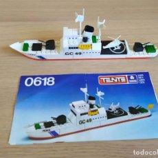 Jeux construction - Tente: TENTE EXIN MAR OCEANIS. GUARDACOSTAS FÉNIX. 0618. GC 49. 100% COMPLETO. INSTRUCCIONES. Lote 194106791