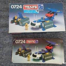 Jeux construction - Tente: TENTE 0724 PORTACONTENEDORES- CAJA E INSTRUCCIONES. Lote 194204565