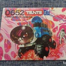 Juegos construcción - Tente: TENTE 0654 INSTRUCCIONES EXPLORADOR ESPACIAL. Lote 194206848