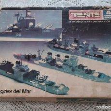 Juegos construcción - Tente: TENTE LOS TIGRES DEL MAR 0541 DE EXIN. Lote 194217586