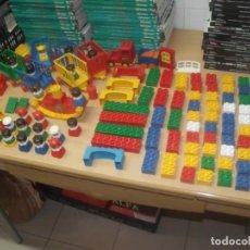 Juegos construcción - Tente: LOTE TENTE ELEPHANT, MÁS DE 100 PIEZAS + 21 PERSONAJES, EXIN LINE BROSS. Lote 194281778