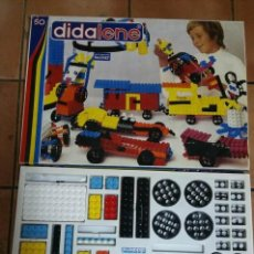 Juegos construcción - Tente: DIDALENE 50 - ANTIGUO Y COMPLETO JUEGO ESTILO LEGO-TENTE - AÑOS 70 - EL MÁS GRANDE DE LA GAMA. Lote 194340748