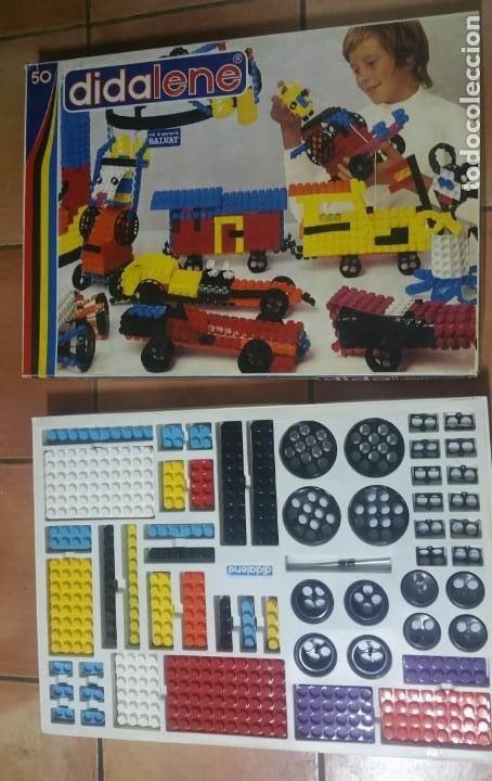 Juegos construcción - Tente: DIDALENE 50 - ANTIGUO Y COMPLETO JUEGO ESTILO LEGO-TENTE - AÑOS 70 - EL MÁS GRANDE DE LA GAMA - Foto 2 - 194340748