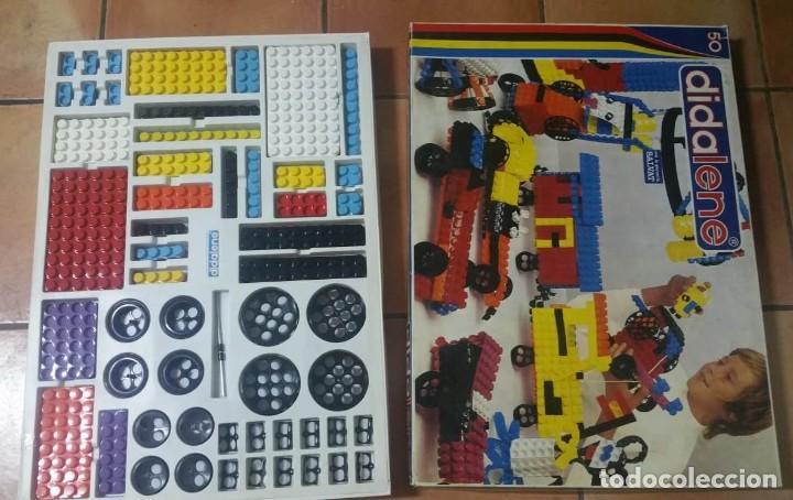 Juegos construcción - Tente: DIDALENE 50 - ANTIGUO Y COMPLETO JUEGO ESTILO LEGO-TENTE - AÑOS 70 - EL MÁS GRANDE DE LA GAMA - Foto 3 - 194340748