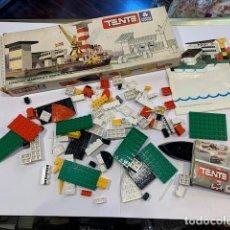 Juegos construcción - Tente: TENTE CAJA ESTACIÓN MARÍTIMA Y REMOLCADOR REF. 0620 (G). Lote 195278945
