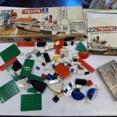 Juegos construcción - Tente: TENTE CAJA REFINERÍA Y PETROLERO DE CABOTAJE REF. 0622 (G). Lote 195280950