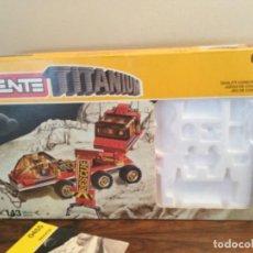 Juegos construcción - Tente: CAJA TENTE TITANIUM REF 0455. Lote 195397591