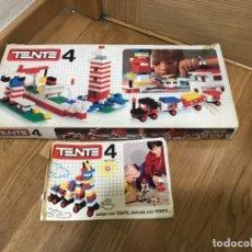 Juegos construcción - Tente: TENTE 4 EN CAJA CON INSTRUCCIONES NO LEGO ORIGINAL AÑOS 80. Lote 197251216