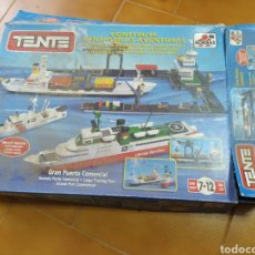 Juegos construcción - Tente: CAJA VACÍA TENTE. Lote 197657160
