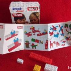 Juegos construcción - Tente: TENTE,HIDROAVION,PUBLICIDAD NESQUIK. Lote 199361106