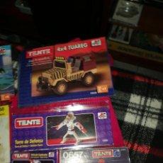 Juegos construcción - Tente: LOTE 9 CATALOGOS TENTE. Lote 199391417