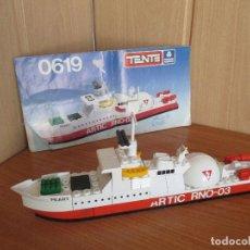 Juegos construcción - Tente: TENTE MAR OCEANIS: REF 0619: BARCO ROMPEHIELOS NUCLEAR PEARY. Lote 199789178