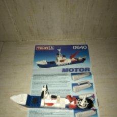 Juegos construcción - Tente: TENTE MOTOR 0640 BUQUE RECATE OSLO COMPLETO CON INSTRUCCIONES SIN CAJA ORIGINAL AÑOS 80. Lote 199864101
