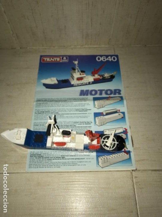 Juegos construcción - Tente: Tente motor 0640 buque recate Oslo completo con instrucciones sin caja ORIGINAL AÑOS 80 - Foto 2 - 199864101