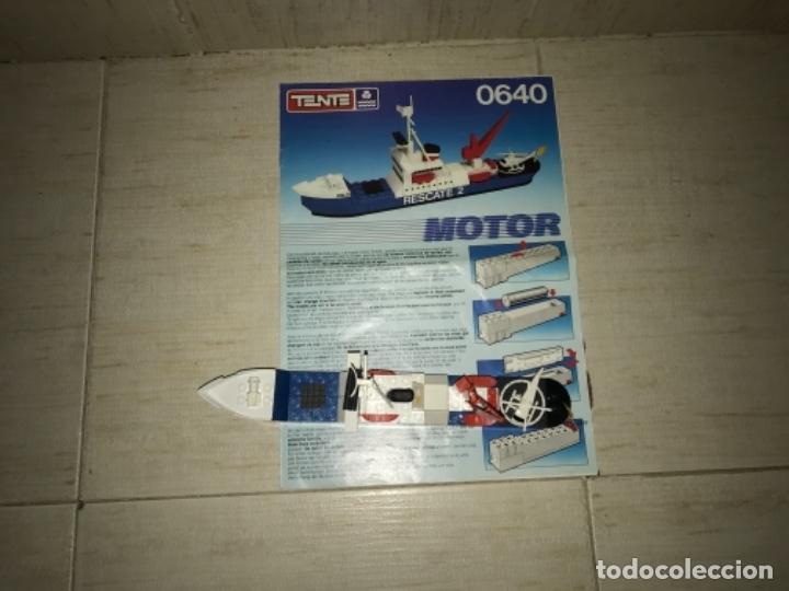 Juegos construcción - Tente: Tente motor 0640 buque recate Oslo completo con instrucciones sin caja ORIGINAL AÑOS 80 - Foto 6 - 199864101