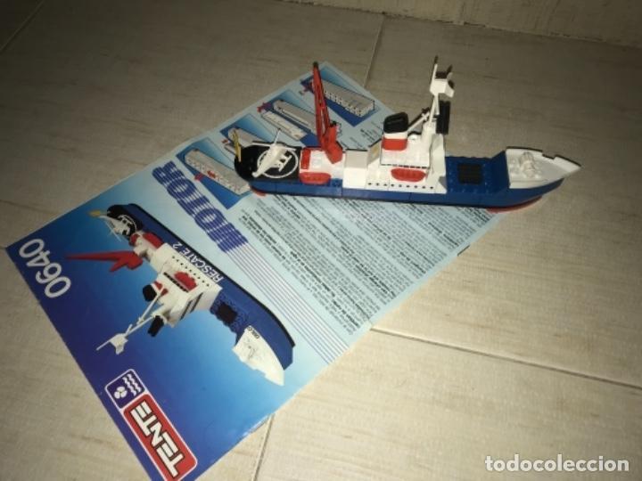 Juegos construcción - Tente: Tente motor 0640 buque recate Oslo completo con instrucciones sin caja ORIGINAL AÑOS 80 - Foto 7 - 199864101