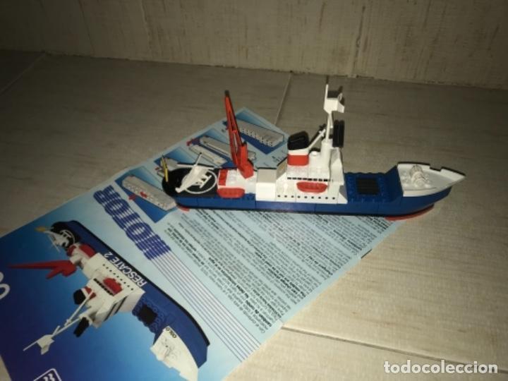 Juegos construcción - Tente: Tente motor 0640 buque recate Oslo completo con instrucciones sin caja ORIGINAL AÑOS 80 - Foto 8 - 199864101