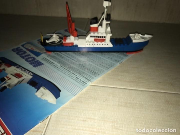 Juegos construcción - Tente: Tente motor 0640 buque recate Oslo completo con instrucciones sin caja ORIGINAL AÑOS 80 - Foto 22 - 199864101