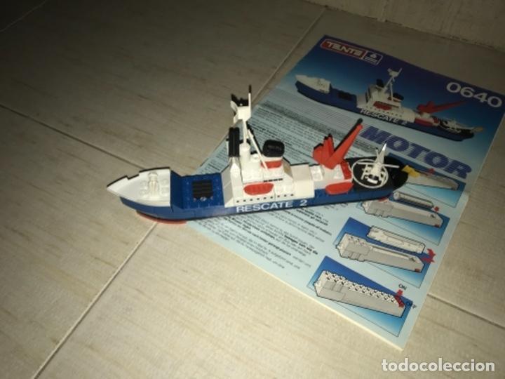 Juegos construcción - Tente: Tente motor 0640 buque recate Oslo completo con instrucciones sin caja ORIGINAL AÑOS 80 - Foto 24 - 199864101