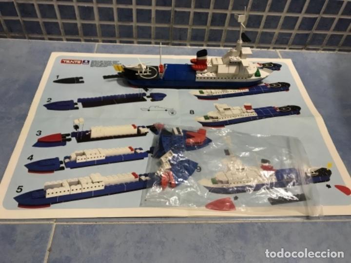 Juegos construcción - Tente: Tente motor 0640 buque recate Oslo completo con instrucciones sin caja ORIGINAL AÑOS 80 - Foto 25 - 199864101
