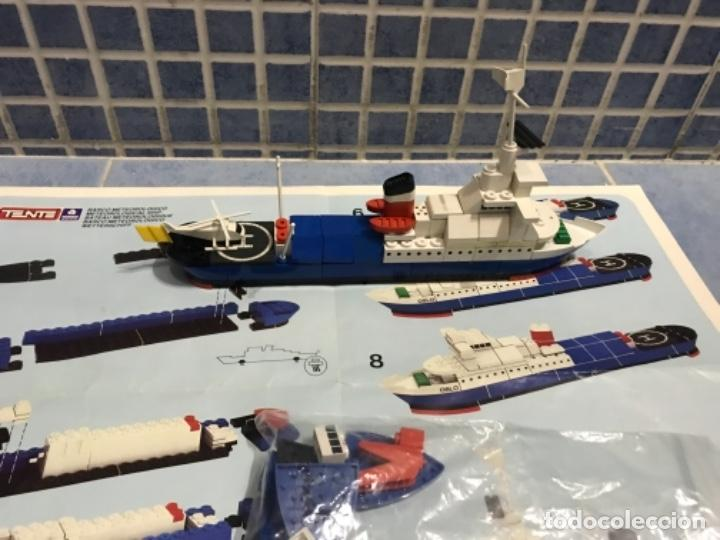 Juegos construcción - Tente: Tente motor 0640 buque recate Oslo completo con instrucciones sin caja ORIGINAL AÑOS 80 - Foto 26 - 199864101