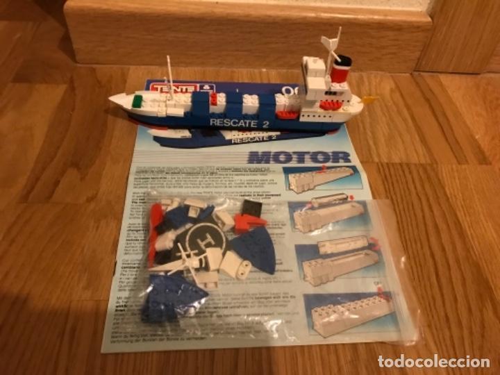 Juegos construcción - Tente: Tente motor 0640 buque recate Oslo completo con instrucciones sin caja ORIGINAL AÑOS 80 - Foto 31 - 199864101