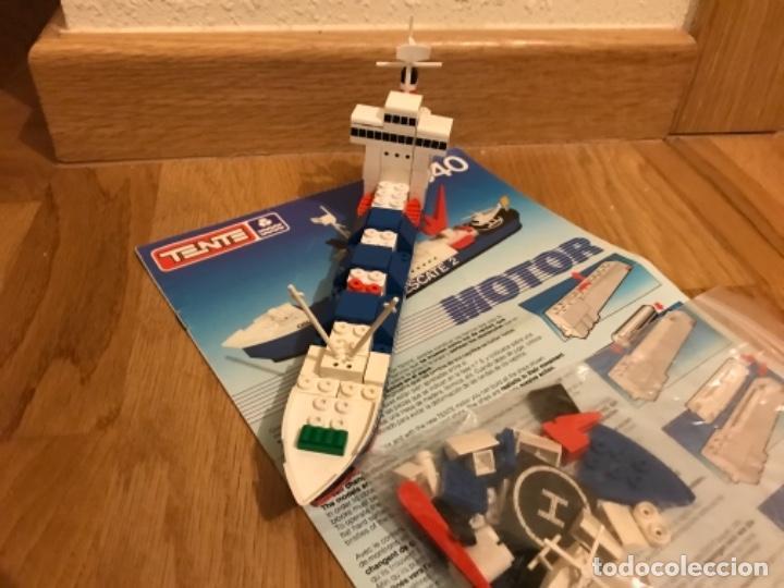 Juegos construcción - Tente: Tente motor 0640 buque recate Oslo completo con instrucciones sin caja ORIGINAL AÑOS 80 - Foto 34 - 199864101