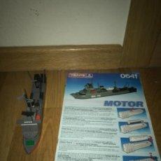 Juegos construcción - Tente: TENTE MOTOR BUQUE DE ASALTO REF-0641 COMPLETA. Lote 200076691