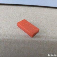 Juegos construcción - Tente: TENTE PLACA LISA TOTAL 1X2 ROJO TITANIUM REF TITANIUM. Lote 201183198