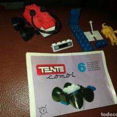 Juegos construcción - Tente: TENTE COMBI 6 GENERADOR MOBIL. Lote 201856960