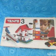 Juegos construcción - Tente: ANTIGUA CAJA TENTE 3, REF 0403. Lote 202699703