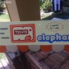 Juegos construcción - Tente: CARTEL TENTE - DE EXPOSITOR - PLÁSTICO - MEDIDAS; 100 X 40 CMS.. Lote 203348967