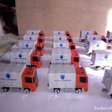 Juegos construcción - Tente: LOTE EXIN TENTE MICRO MICRO TENTE 40 PIEZAS,20 CAMIONES Y HELICÓPTEROS GRISES NAVAL COMMAND,NUEVOS.. Lote 203809351