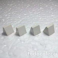 Jeux construction - Tente: BLANCO PIQUITO - TENTE (4 UNIDADES). Lote 222116131
