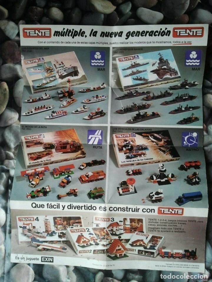 Juegos construcción - Tente: Catalogo de los juegos de construcción Tente de Exin juguetes. Juguete antiguo retro niños y niñas. - Foto 2 - 205008940