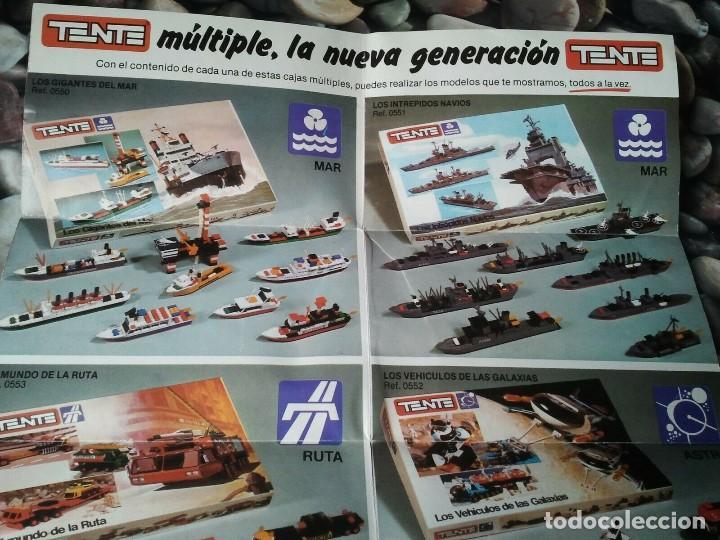 Juegos construcción - Tente: Catalogo de los juegos de construcción Tente de Exin juguetes. Juguete antiguo retro niños y niñas. - Foto 3 - 205008940