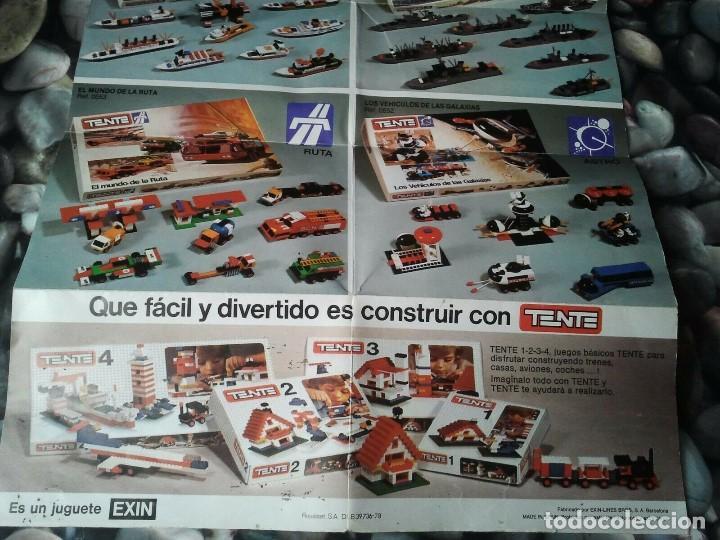 Juegos construcción - Tente: Catalogo de los juegos de construcción Tente de Exin juguetes. Juguete antiguo retro niños y niñas. - Foto 4 - 205008940