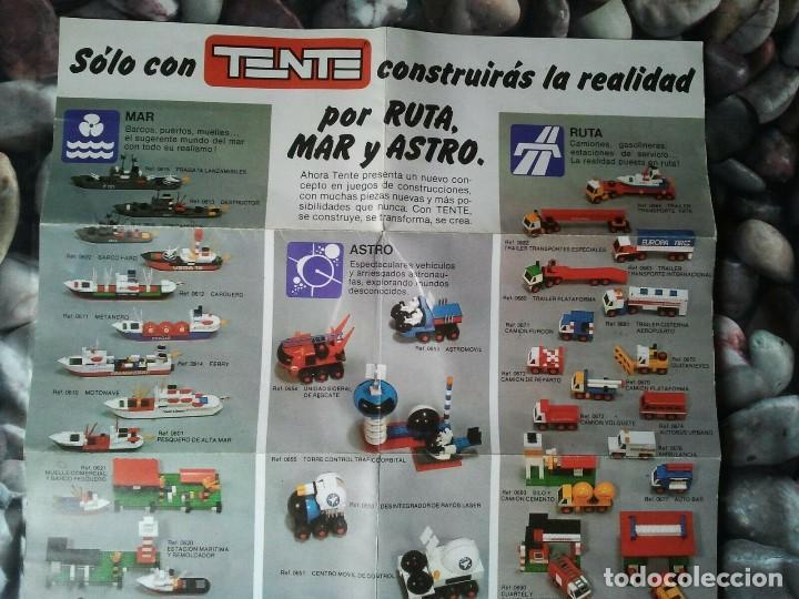 Juegos construcción - Tente: Catalogo de los juegos de construcción Tente de Exin juguetes. Juguete antiguo retro niños y niñas. - Foto 6 - 205008940