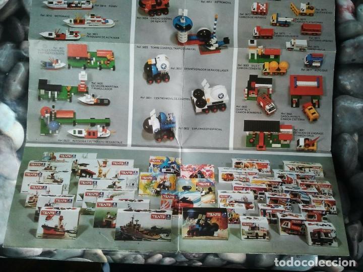 Juegos construcción - Tente: Catalogo de los juegos de construcción Tente de Exin juguetes. Juguete antiguo retro niños y niñas. - Foto 7 - 205008940