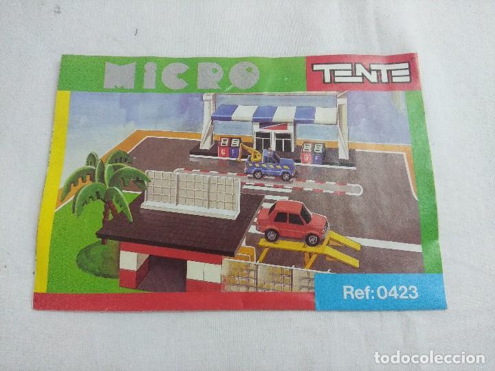 Juegos construcción - Tente: TENTE MICRO REF:0423/ORIGINAL EXIN CON MANUAL/CAJA VER FOTOS. - Foto 8 - 206212051