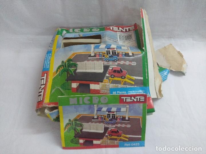 Juegos construcción - Tente: TENTE MICRO REF:0423/ORIGINAL EXIN CON MANUAL/CAJA VER FOTOS. - Foto 9 - 206212051