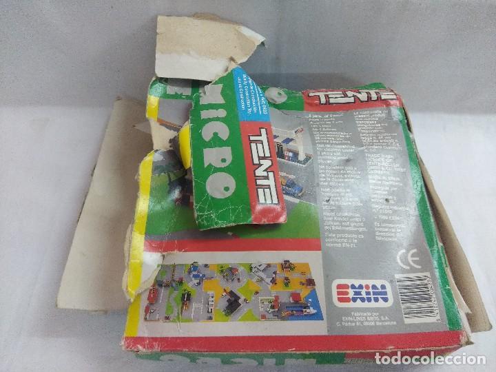 Juegos construcción - Tente: TENTE MICRO REF:0423/ORIGINAL EXIN CON MANUAL/CAJA VER FOTOS. - Foto 10 - 206212051
