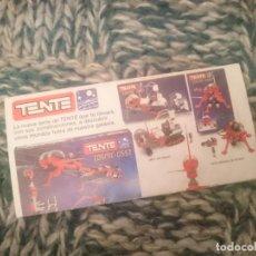 Juegos construcción - Tente: TENTE CATALOGO - VER FOTOS. Lote 207130548