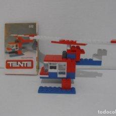 Juegos construcción - Tente: TENTE MINI, EXIN REF 512 HELICOPTERO, COMPLETO CON INSTRUCCIONES. Lote 207484462