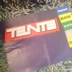 Juegos construcción - Tente: CATALOGO TENTE BLOCK --- -VER FOTOS. Lote 210103626