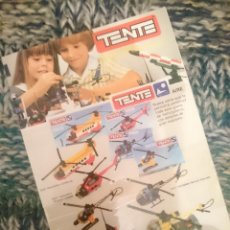 Juegos construcción - Tente: CATALOGO TENTE MICRO -VER FOTOS. Lote 210104297