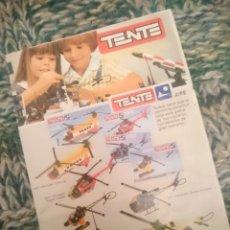 Juegos construcción - Tente: CATALOGO TENTE -VER FOTOS. Lote 210105176