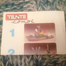 Juegos construcción - Tente: CATALOGO TENTE COMBI -VER FOTOS. Lote 210106096